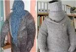 天气冷了,该穿毛衣了