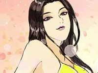 玩家原创场景漫画欣赏 神威美女迎宾队