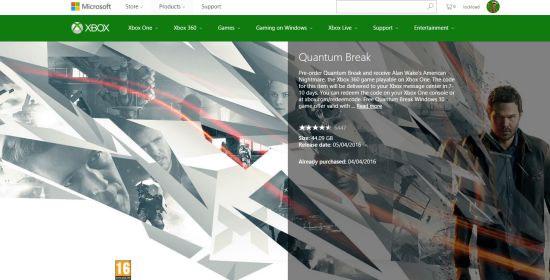 《量子破碎》试玩会公布 Xbox One可预载