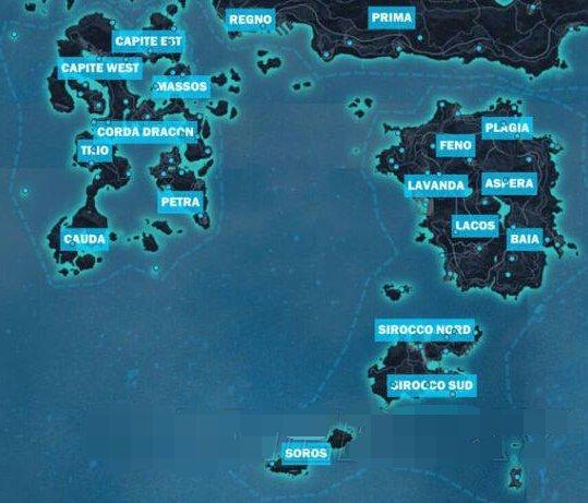 《正当防卫3》全地图各省据点分布一览