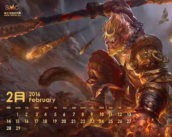 2016年最新神之浩劫原创日历壁纸图集更新