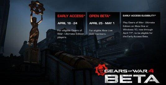 《战争机器4》多人Beta公布 向PC玩家开放