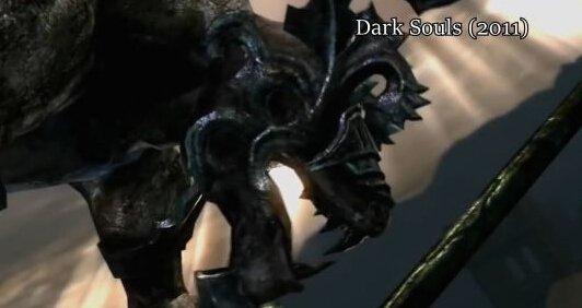 《黑暗之魂》全系列BOSS进化史 颤抖不死人