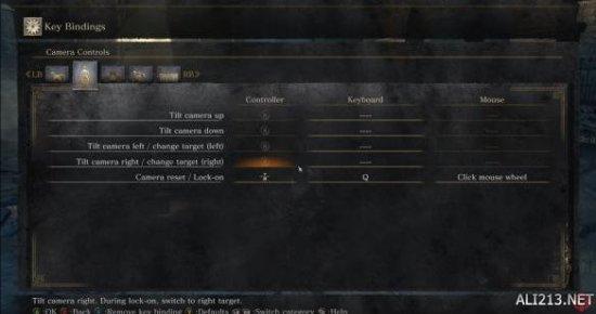 《黑暗之魂3》PC画质调节及按键设定截图曝光!