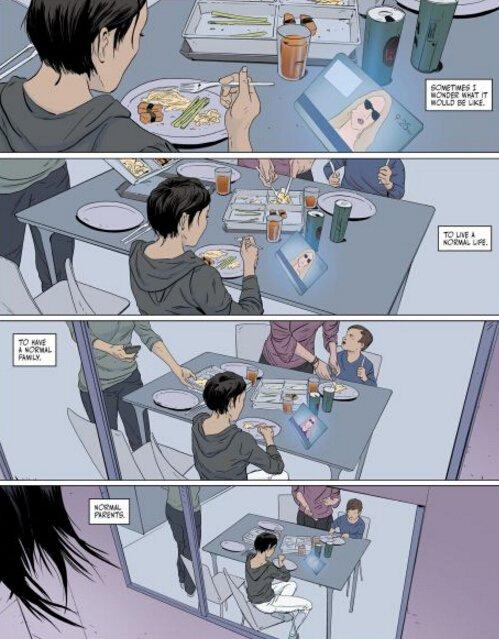 《镜之边缘:催化剂》前传同人漫画公开