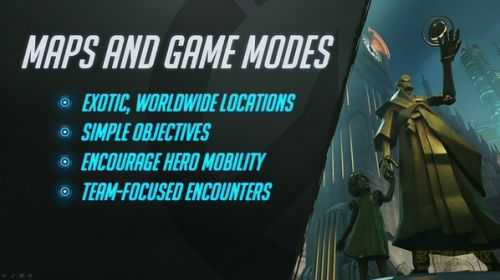 OW守望先锋战场机制与英雄类型资料大全