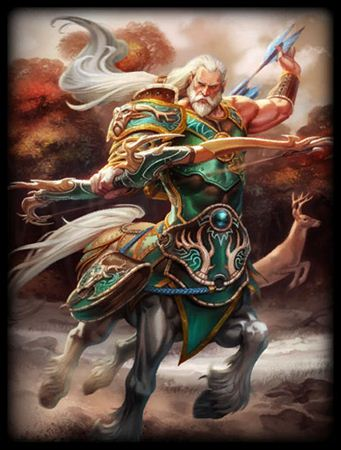 神之浩劫希腊神明凯戎 众神导师基础资料