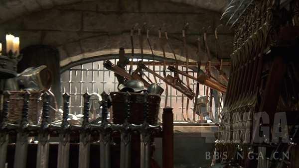 魔兽电影宣传片 卡辛斯基带你参观军械库