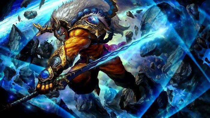 DOTA2守卫雅典娜星辰剑圣攻略