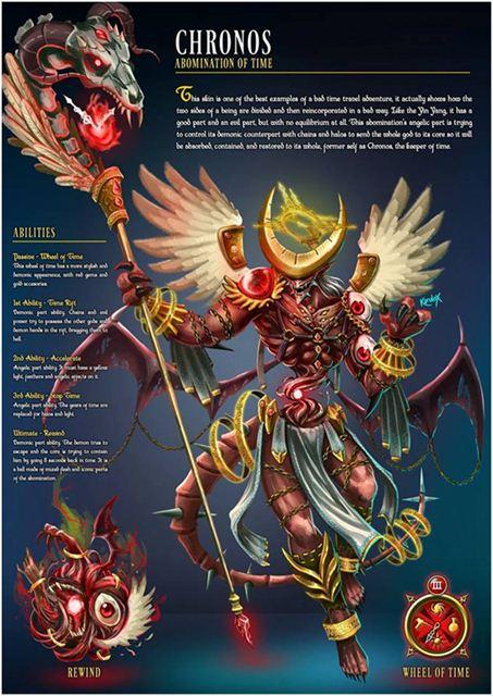 玩家最新设计皮肤集 血肉恶魔 科罗诺斯