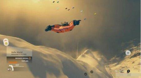 《极限巅峰》新演示 翼装飞行勇闯雪山绝岭