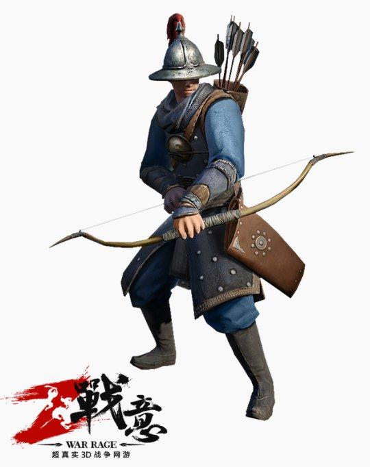 战意弓箭手兵种属性详情 战场打法说明