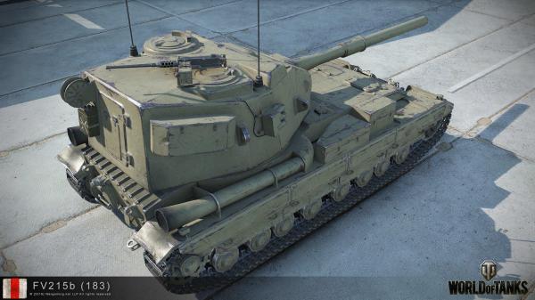炮塔改动大 183高清模型车库图集预览