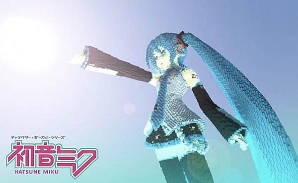 世界第一公主殿下 我的世界初音未来雕像图片