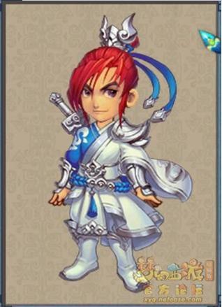 化圣部分角色造型成就图 套上银色铠甲