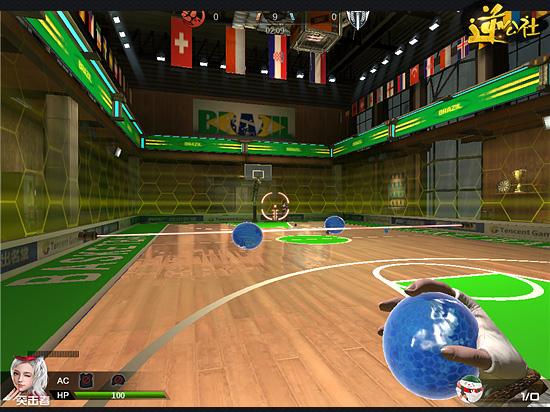 逆战水球大作战介绍 水球模式有哪几种水球?