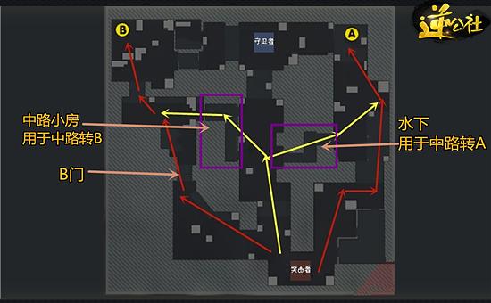 逆战爆破地图21区攻略 奇葩C4摆放方法教学