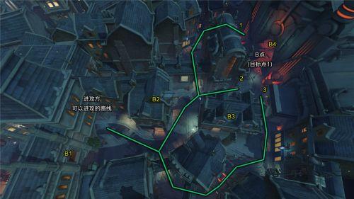 守望先锋地图国王大道资料及平面图汇总
