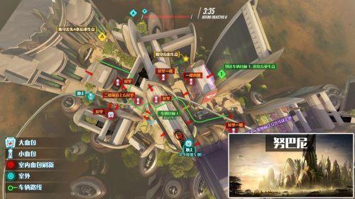 守望先锋地图努巴尼资料及平面图详细汇总