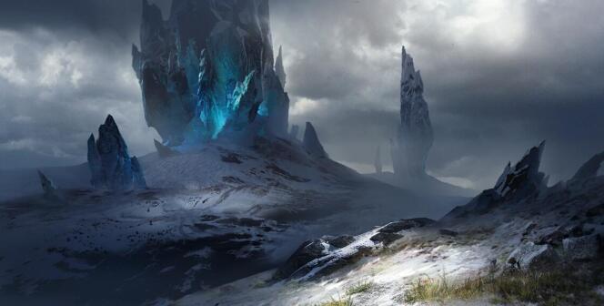 《龙魂时刻》雪山背景分析 唯美雪景篇