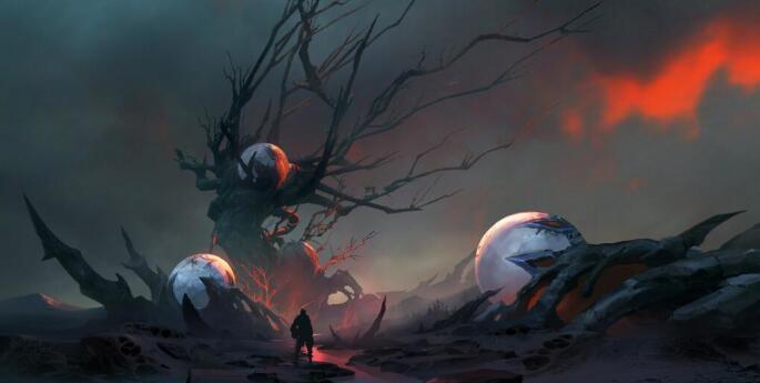 地狱气氛大图分享 《龙魂时刻》地狱美景
