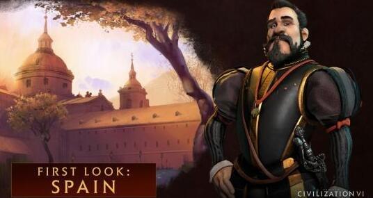 """《文明6》西班牙领袖曝光 被称""""护教国王"""""""