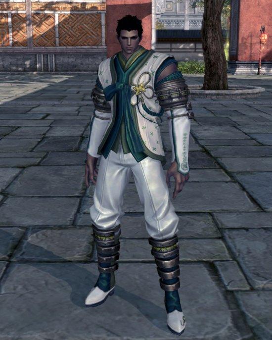 剑灵韩服青叶时装上架 圆了设计师9年的梦想
