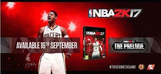 《NBA 2K17》免费版公布 提前体验单机生涯模式