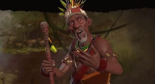 《文明6》刚果领袖公布 信奉基督教的非洲国王