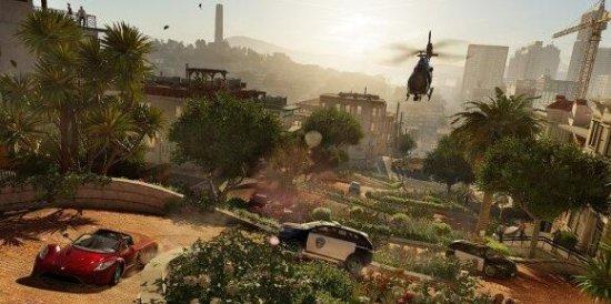 看门狗2总监盛赞PS4 Pro 旧金山将栩栩如生
