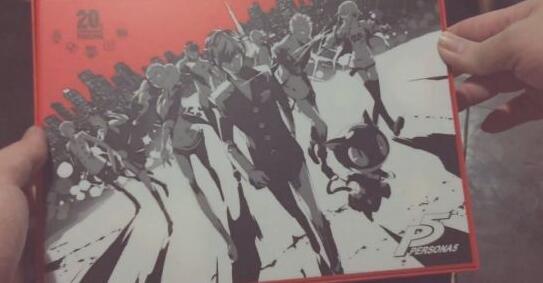 《女神异闻录5》20周年豪华版开箱 满分神作