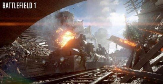 射击大作《战地1》XboxOne S版将获得HDR支持