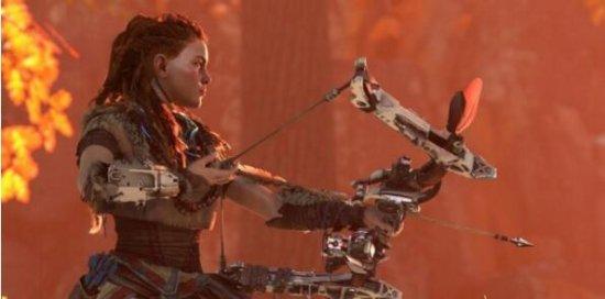 《地平线:零之黎明》新情报 美女激射大恐龙