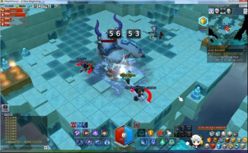 冒险岛2蓝影洞穴(雪人本)攻略 最终boss怎么打