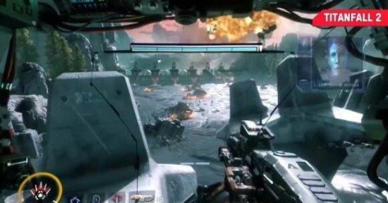 《泰坦陨落2》单人战役新演示 火爆机甲对轰