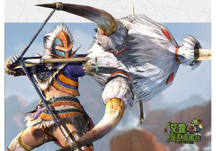 怪猎OL新人武器上路选择 战场统治者弓箭
