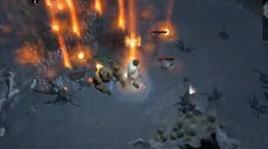 国服试玩视频 野蛮人火雨尸爆流速刷福尔