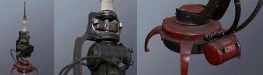 《羞辱2》武器设定图 时尚拉风更具毁灭性