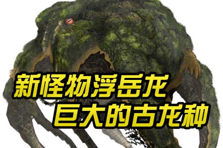 新怪物巨大的古龙种 高难度浮岳龙