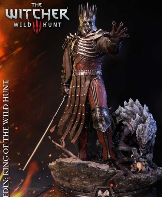 《巫师3》狂猎之王手办 售价5735块钱