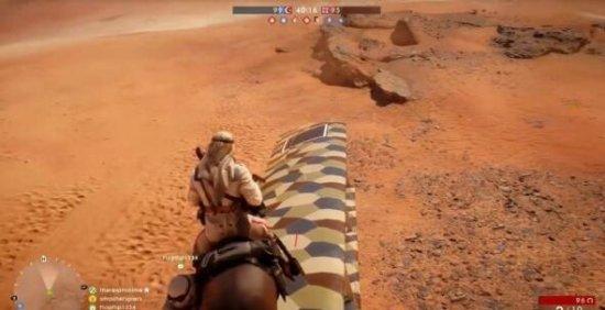马站在飞机上?《战地1》奇葩测试视频