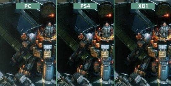 《泰坦陨落2》PC/PS4/XB1版画质对比视频