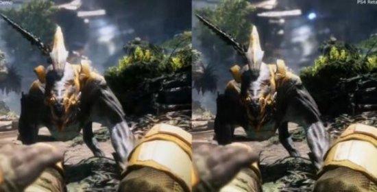 《泰坦陨落2》demo与PS4零售版画质对比
