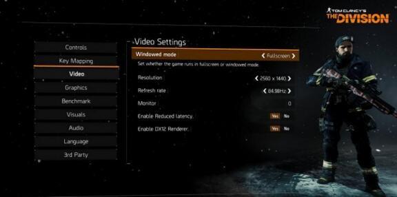 《全境封锁》新补丁上线 支持DX12渲染