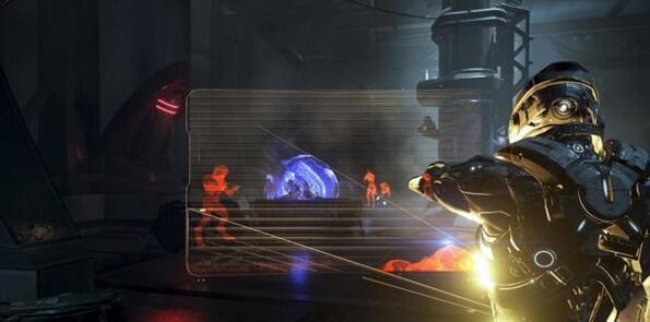 《质量效应:仙女座》爆出新图 主角喷火!