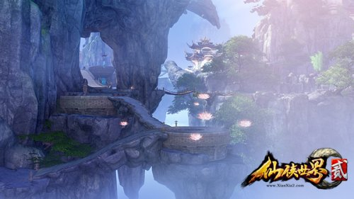 《仙侠世界2》评测:御风飞行尽览精致游戏场景