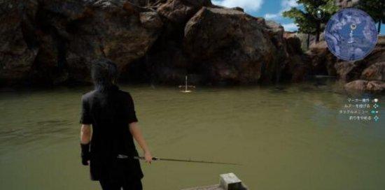 《最终幻想15》王子不务正业 钓鱼美食与自拍