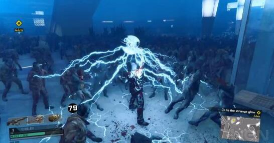《丧尸围城4》演示 主角化身杨叫兽玩电击