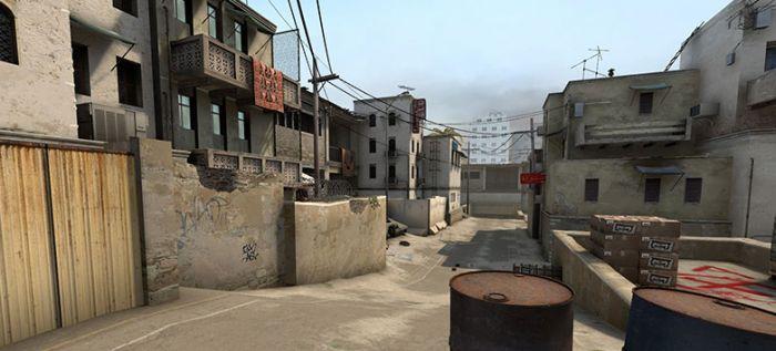 炙热沙城Ⅱ(de_dust2)地图 中英文报点