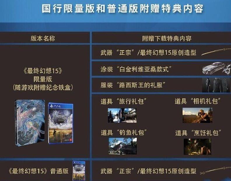 《最终幻想15》国行版319元 上海发布会将开